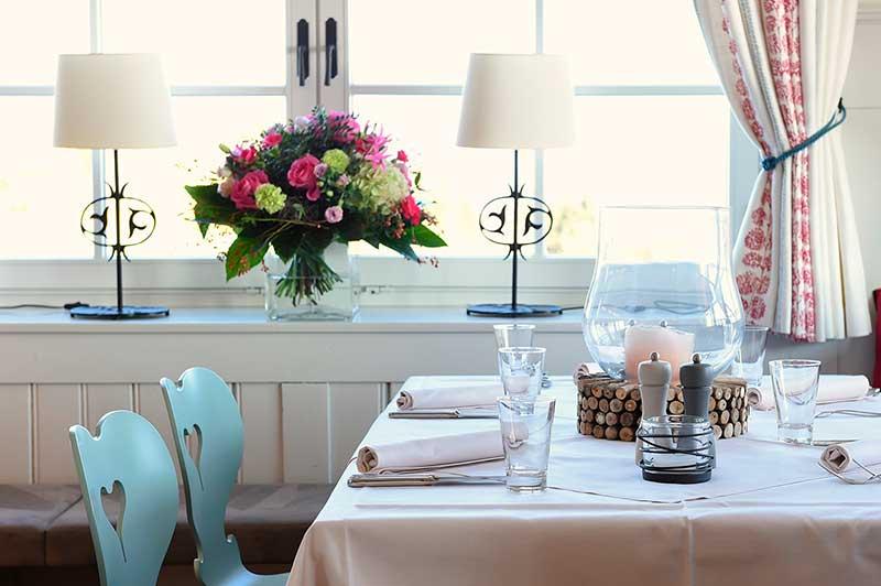Restaurant und Terrasse